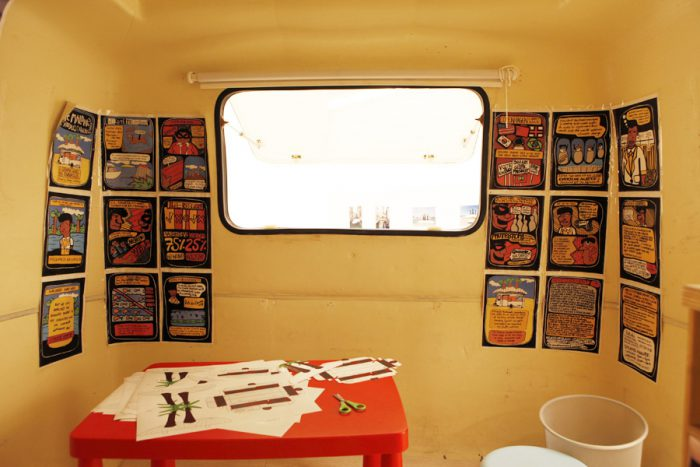 11GraphicNovel inside caravan Spain