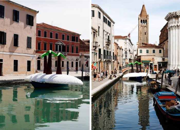 island Venice Arsenale & canal