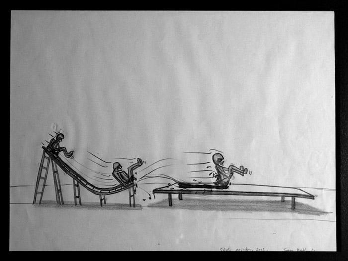 Slide painting30x40cm copy