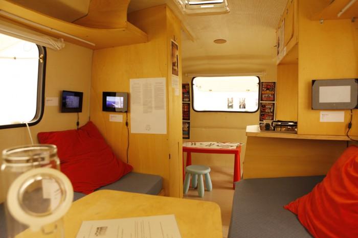 7Caravan interior