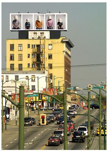 Huge billboard_Vancouver