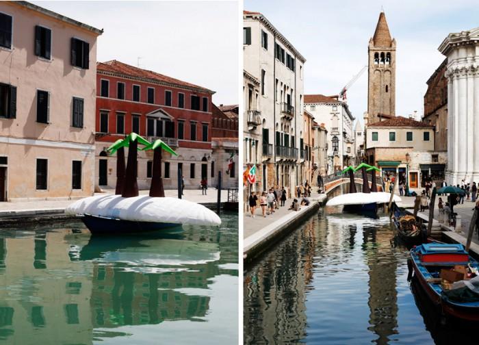 island Venice Arsenale & canal